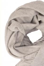 Becksöndergaard | Wollen sjaal Crystal | grijs  | Afbeelding 3