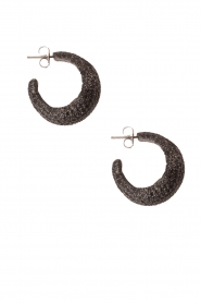 Earrings Sally | black