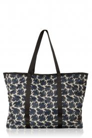 Becksöndergaard | XL Shopper Relyea Leilani | blauw  | Afbeelding 3