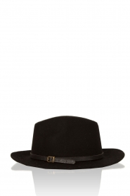 Becksöndergaard | Wollen hoed Hancock | zwart  | Afbeelding 1