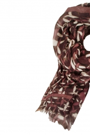 Scarf Clementine | print