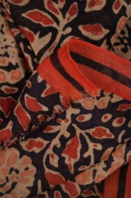 Scarf Laleh | blue/red