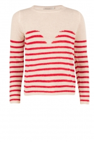 Sweater Matisse | white/red