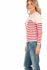 Sweater Matisse | white/red
