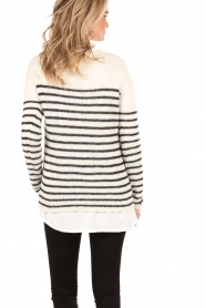 Sweater Marigny | white blue