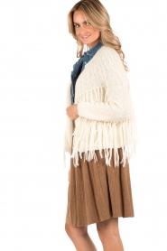 Mes Demoiselles | Vest met franjes Aymara | wit  | Afbeelding 4