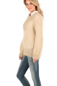 Knitted sweater Lueur | stone