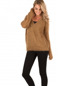 Knitted sweater Lutin | brown