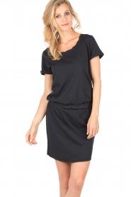 Hunkydory | Jersey jurk Peetz | donkerblauw   | Afbeelding 2