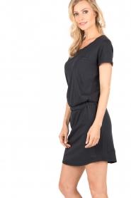 Hunkydory | Jersey jurk Peetz | donkerblauw   | Afbeelding 4