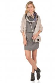Hunkydory | Jersey jurk Peetz | grijs   | Afbeelding 3