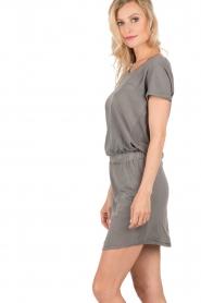 Hunkydory | Jersey jurk Peetz | grijs   | Afbeelding 4
