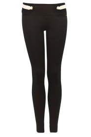 Sportlegging Golden Ring | zwart