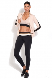 Deblon Sports | Sportlegging Michelle | zwart  | Afbeelding 3