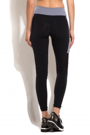 Deblon Sports | Side Pocket sportlegging | zwart en grijs   | Afbeelding 5