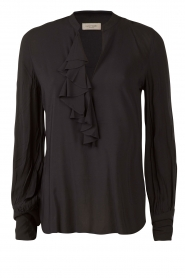 Top met rushes Glendale | donkerblauw