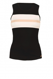 Sports top Michelle | black