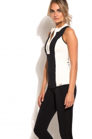 Sports top Rosy | black