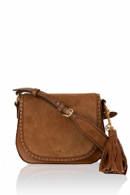 Leather shoulder bag Sadle Brooklyn | brown