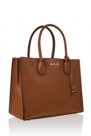 Leather hand bag Mercer | brown