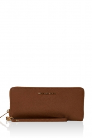 Leather wallet Jet Set Travel | brown