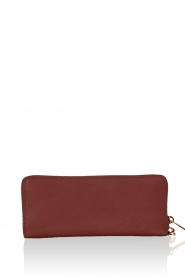 MICHAEL Michael Kors | Leren portemonnee Jet Set Travel | brick red  | Afbeelding 4