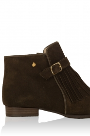Suede ankle boots Sage | khaki