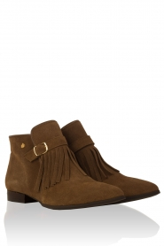 Suede ankle boots Sage | brown