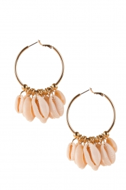 Earrings with shells Lanikai | gold