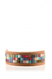 Melz | Leren armband Texas | bruin   | Afbeelding 1