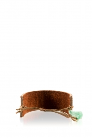 Melz | Leren armband Texas | bruin   | Afbeelding 3