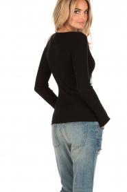 Set | Lace-up trui Gail | zwart  | Afbeelding 5