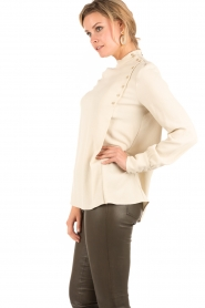 Set | Blouse Oyster | zand  | Afbeelding 4