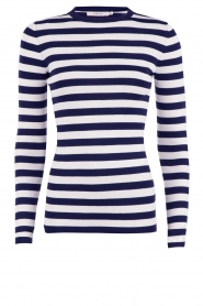 Top Jolie | blue and white