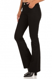 Flared jeans Brooklyn | zwart