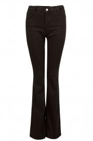 Set | Flared jeans Brooklyn | zwart  | Afbeelding 1