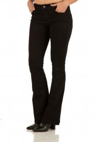 Flared jeans Brooklyn | black