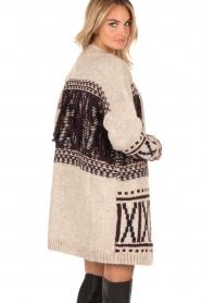 Knitted cardigan Winnie | Beige