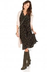 Silk dress Poppy | black