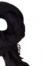 Set | Sjaal Evi | donkerblauw  | Afbeelding 3