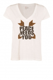 T-shirt Peace | wit