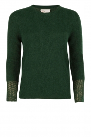 Leon & Harper | Wollen trui Moelleux | groen  | Afbeelding 1