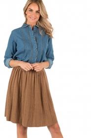 Denim blouse Chewie | blue