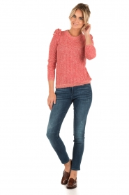 Knitted sweater Nala | red