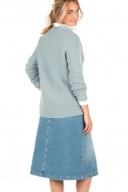 Knitted sweater Simmi | light blue