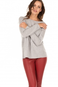 Cashmere sweater Mikki | grey