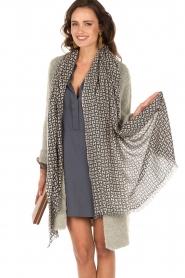 Cashmere scarf print | print
