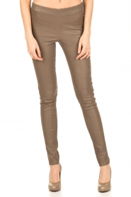 Arma | Lamsleren stretchlegging Roche | taupe  | Afbeelding 2