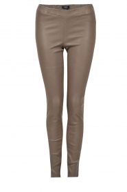 Arma | Lamsleren stretchlegging Roche | taupe  | Afbeelding 1