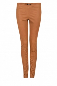Lamb leather leggings Roche | brown